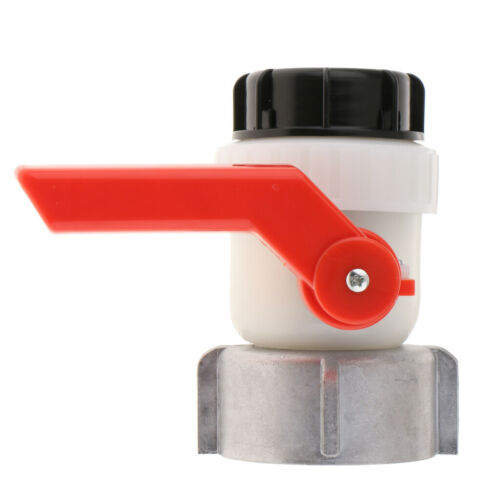 """IBC Water Tank Ball Valve Drain Adapter 3.15/"""" Coarse Thread to 2/"""" Outlet"""