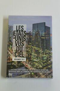 LES ETATS-UNIS VUS DU CIEL Vol. 1 & 2 -  DVD Idioma Francés - NUEVO EN BLISTER.