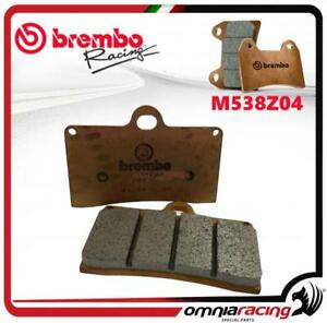 Brembo Racing Z04 - M538Z04 plaquettes frein étriers Brembo P4 30/34 (INT 40mm) - France - État : Neuf: Objet neuf et intact, n'ayant jamais servi, non ouvert, vendu dans son emballage d'origine (lorsqu'il y en a un). L'emballage doit tre le mme que celui de l'objet vendu en magasin, sauf si l'objet a été emballé par le fabricant d - France