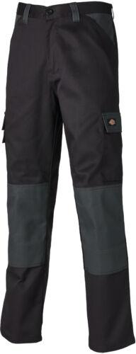 varie dimensioni Commercio resistente Dickies Pantaloni da lavoro quotidiano nero e grigio