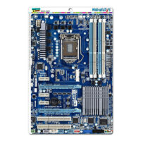 Blue Computer Motherboard Processor Cpu Memory - Mag-neato's™ Puzzle Magnet Set