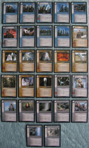 Lord of the Rings TCG The Two Towers Rare Cards Part 2//5 CCG LOTR