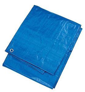 12 x 10 ft (environ 3.05 m) Grande bâche bleue camping tapis de sol mobilier de jardin Housse  </span>