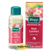 Kneipp Massage Oil DEVILS CLAW Back Comfort 100ml