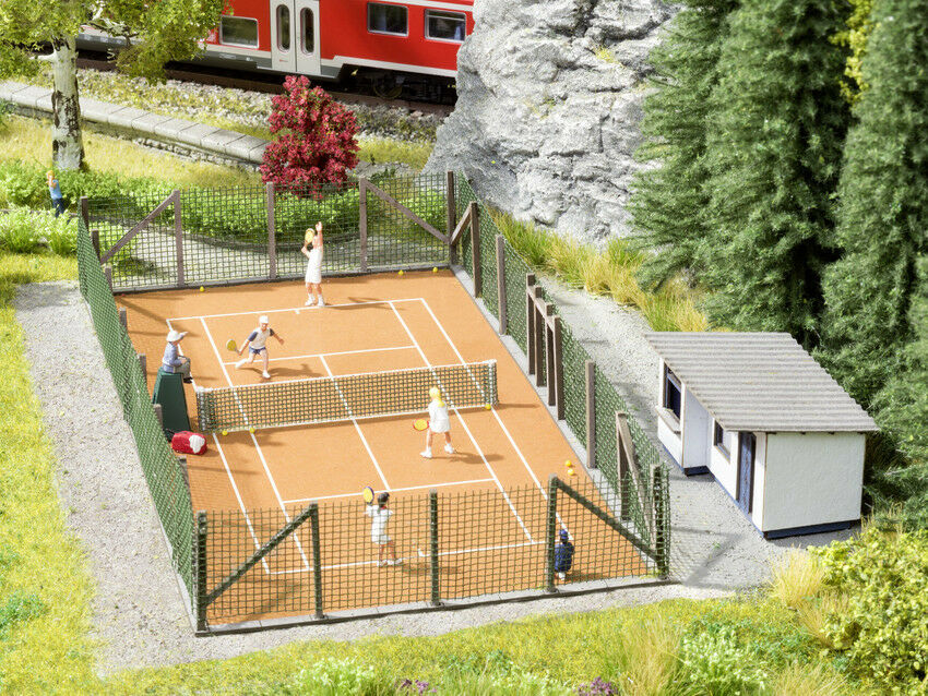 HS Noch 65615 Themenset Tennisplatz mit Figurenset u.s.w HO    Sehr gute Qualität