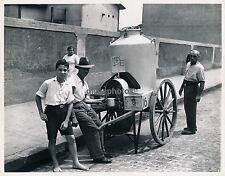 RIO DE JANEIRO c. 1950 - Marchand de Lait Brésil - GF 12