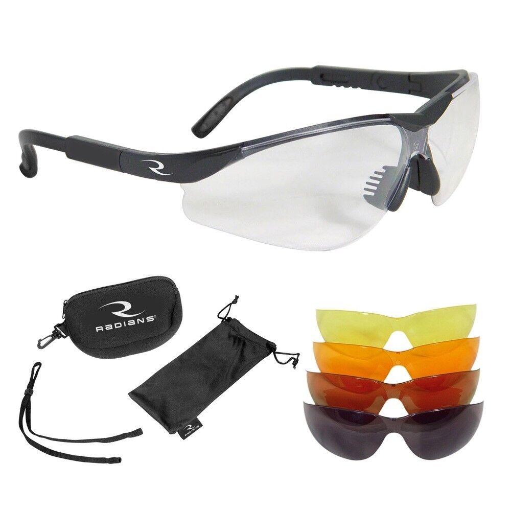 Radians 5 Lens Interchangeable Safety Glasses Kit