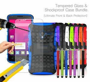 For-Vodafone-Shockproof-Hybrid-Case-Cover-Glass-Protector-amp-Stylus-Pen