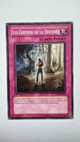 Carte Yu Gi Oh Les Chemins De La destinée POTD-FR052