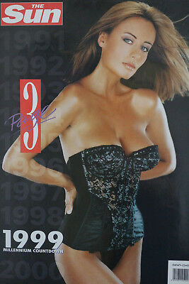The Sun Page 3 1999 Vintage Topless Calendar - Ft. Tara O'Connor (NEW, MINT)