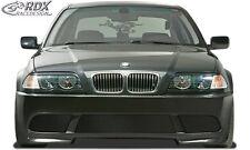 RDX Stoßstange BMW E46 Limousine & Touring Front Schürze Vorne Spoiler