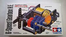 TAMIYA EDUCATIONAL 6-SPEED GEARBOX H.E. ART 72005