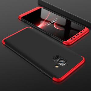 For-Samsung-Galaxy-A8-A8-2018-Hybrid-Shockproof-Armor-Plastic-Case-Slim-Cover