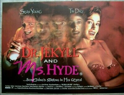 Dr. Jekyll and Ms. Hyde (1995) Original Rolled S/S UK Quad ...