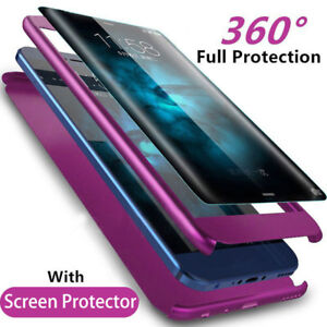For Samsung Galaxy S7 Edge S8 S9 Plus Note 8 9 Full Cover Shockproof Phone Case