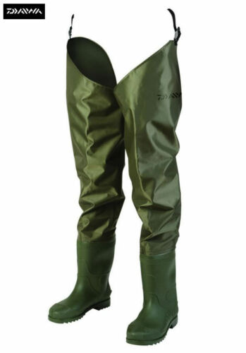 Daiwa Lightweight Nylon Hip Fishing Waders All Sizes 6-12 DNHW