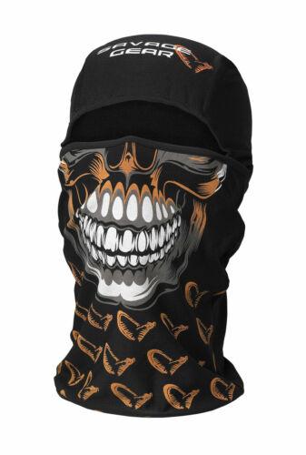 Savage Gear Skull Balaclava und Halstuch 2 in 1 Funktion