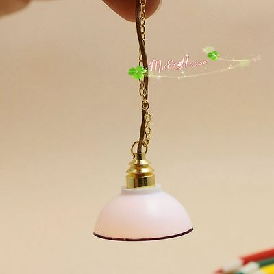 1:12 scale doll house miniature Streets Ahead ceiling hanging lamp 12 volt light