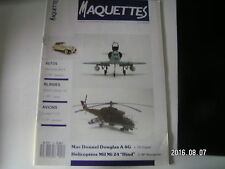 ** Maquettes n°12 SDKFZ / B25 Mitchell / Mil Mi 24 / Faucon Chinois / Mercedes