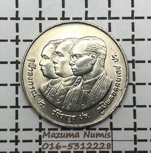 Mazuma *FC16 Thailand BE2532 1989 Comm Coin 10 Baht UNC/BU