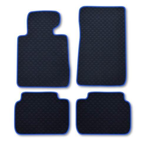 RAU Caoutchouc Tapis Octagon Bande Bleu BMW 3er e91 E 91 Touring 09//05-06//12