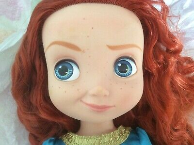 Aggressivo Bambola Disney Animators Merida Vintage Bellissima ???? Aspetto Bello