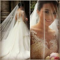 Custom A Line Lace Sleeves Bridal Gown Wedding Dress 6-8-10-12-14-16-18++