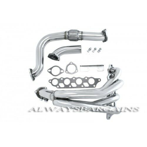 Manzo Stainless Steel Header Downpipe Ford Focus 00-04 ZX3 ZX5 2.0L DOHC ZETEC