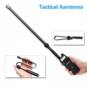 NEW-Tactical-Antenna-SMA-Female-Dual-Band-VHF-UHF-For-Baofeng-UV-5R-82-GL-US