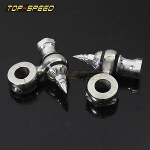 Retro-2-034-Offset-Dogbone-Polish-Dog-Bone-1-034-Risers-Bars-For-Harley-Bobber-Chopper