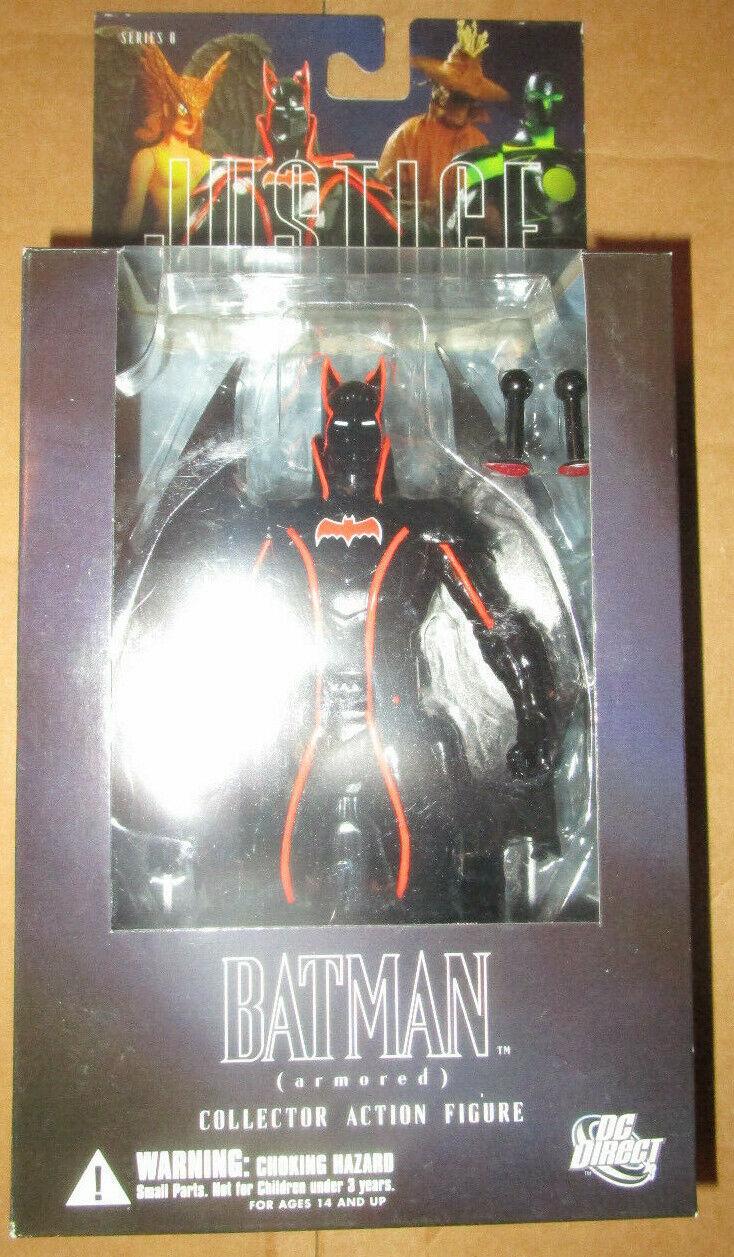 DC DIRECT ALEX ROSS JUSTICE LEAGUE ARMGoldt BATMAN FIGURE serie 6 JLA