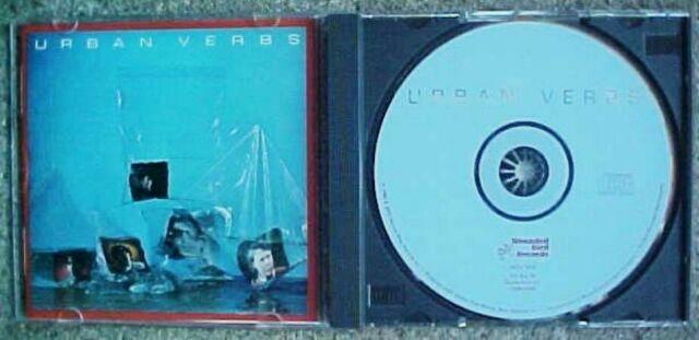 "URBAN VERBS ""URBAN VERBS"" VINTAGE OOP NEW WAVE CD (1980) ..........FREE SHIPPING"