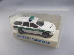 Rietze-POLIZIA-AUTO-N-50589-FORD-MONDEO-GHIA-gk6