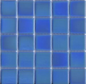 Image Is Loading 25pcs Bisazza Gloss Pearl Gl 09 Dark Blue