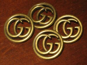 Gucci-8-buttons-BRONZE-BRASS-GG-23-mm-LARGE-BUTTONS-THIS-IS-FOR-8