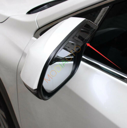 For Lexus NX300h NX200t 2015 Acrylic Rearview Mirror Rain Visor Sun Guard 2Pcs