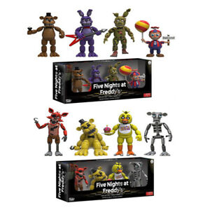 4pcs-lot-5cm-Five-Nights-at-Freddy-039-s-4-Figure-Pack-Five-Nights-at-Freddys-Action