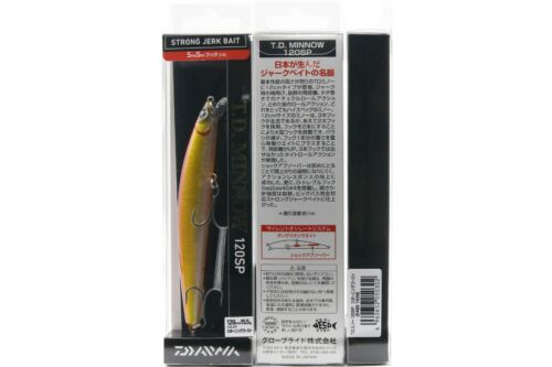 MINNOW 120SP fishing lure DAIWA T.D SPAWNING GHOST 04801539