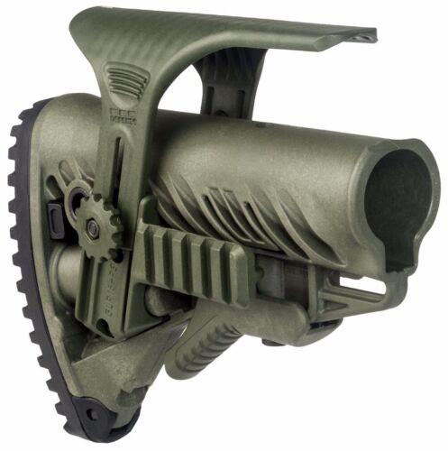 GLR-16 PCP-S Fab Defense couleur verte Tactique Buttstock W Picatinny Cheek Rest