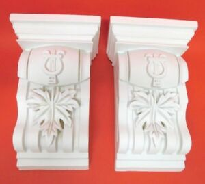 Pair of Corbels -  Resin - Not Polystyrene  - FLAVIA - 275MM X 172MM X112MM