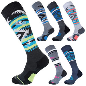 COMODO - Merino Wool Snowboard Technical Knee High Socks