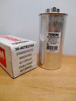 Rotom 36-407r3744 Run Capacitor Round 40 Mfd Dual 370/440v