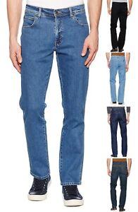 Wrangler-Basic-Regular-Fit-Stretch-Denim-Jeans-Black-Light-Darkstone-Stonewash