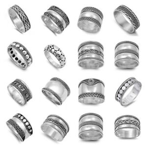 """New Fashion """"bali"""" Designs Sterling Silver Rings Sizes 5-13 Rings Jewelry & Watches"""