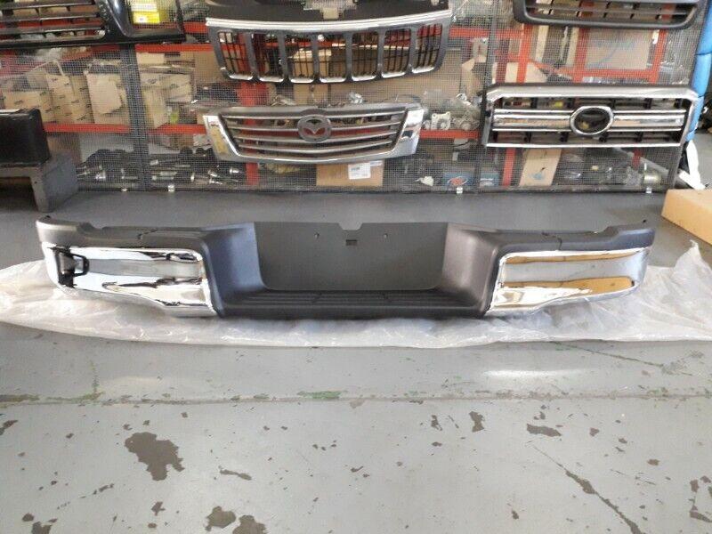Toyota Hilux GD6 Chrome Rear Bumper for Sale