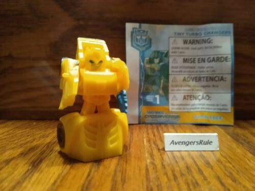 Transformers Cyberverse Tiny Turbo Changers Series 2 Bumblebee