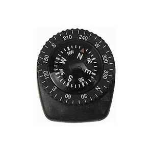 Precision Watch Band Clip-on Navigation Compass - lightweight edc outdoors -NEW