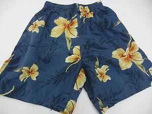 f05d18beb49ff Wrangler Sport Swim Trunks Suit Shorts Blue & Yellow Youth Boy Small ...