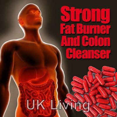 RASPBERRY KETONE  COLON CLEANSER FAT BURNERS SLIM WEIGHTLOSS DIET SLIMMING PILLS