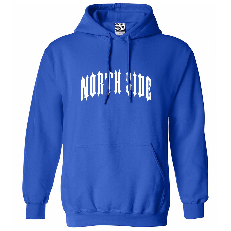 North Side Outlaw HOODIE - Hooded Sweatshirt Northside Biker Metal - All colors